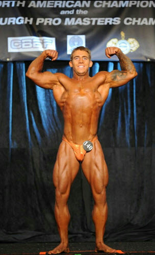 NPC Nationals BodyBuilding Open Middleweight Double Bicep