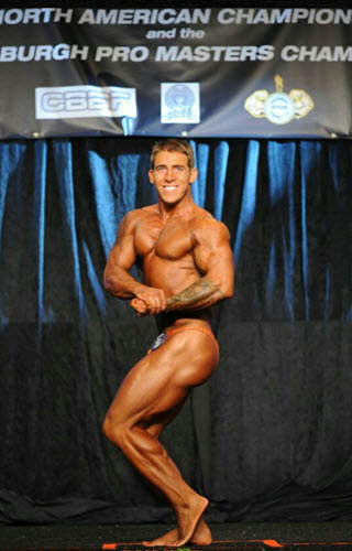 NPC Nationals BodyBuilding Open Middleweight Side